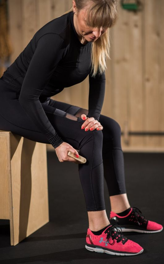 Massage Rollers Strong As Wood Wooden Gym Equipment
